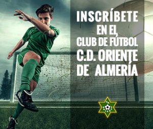 Inscríbete en el Club de Fútbol C.D. ORIENTE de Almería